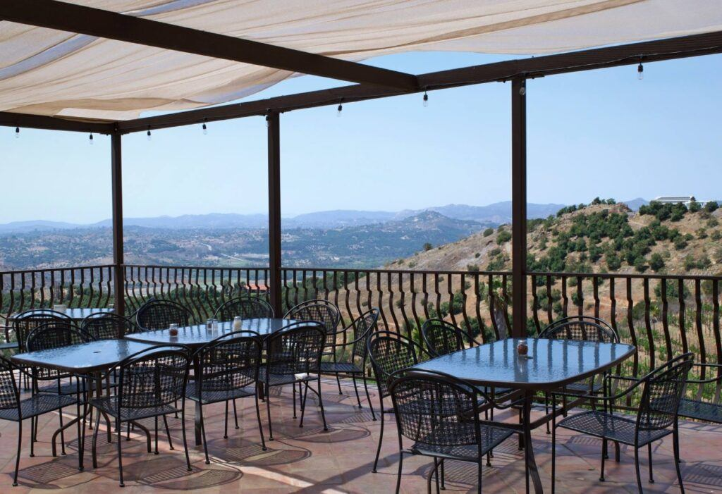 Cordiano Winery Deck