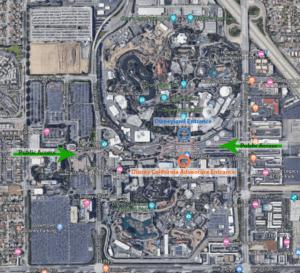 Disneyland Layout
