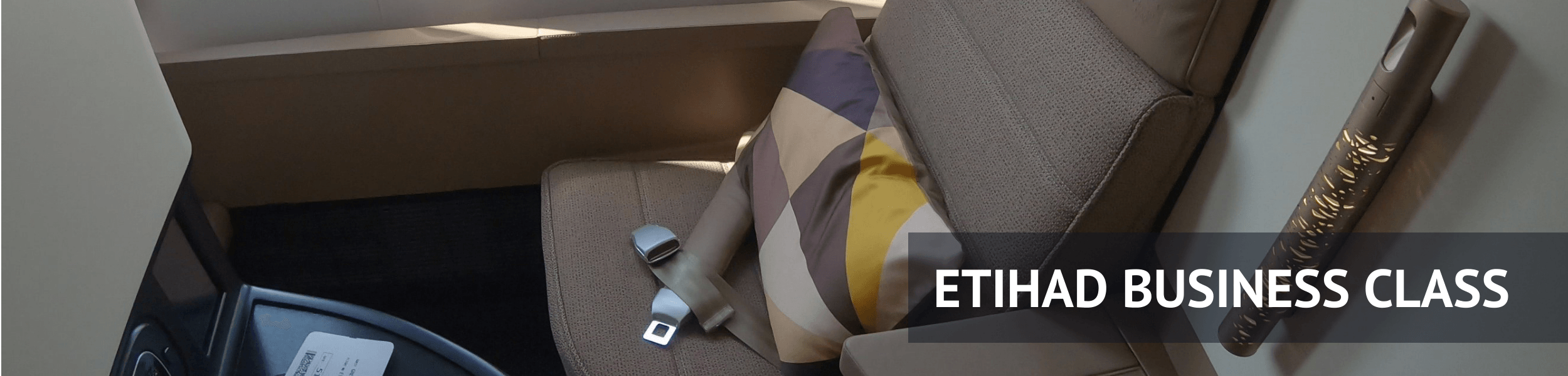 Etihad Business Class Review 787-9 Dreamliner