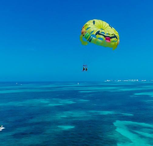 Go Cancun Pass parasail