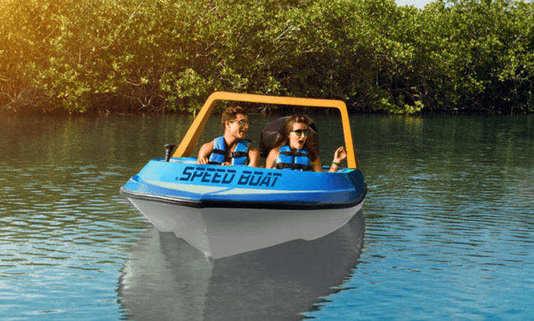 Go Cancun Pass Speedboat