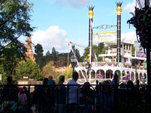 View from Cafe Orleans Disneyland
