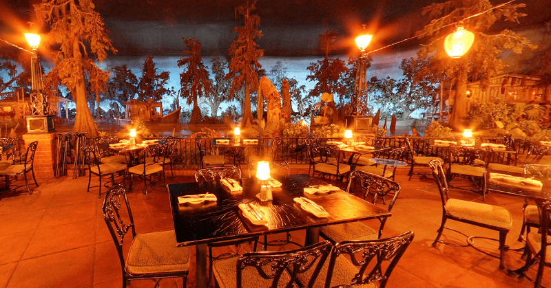 Blue Bayou restaurant Disneyland California