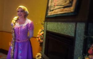 Napa Rose Disneyland Princess Breakfast