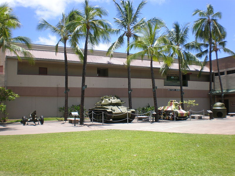 Honolulu Battery Randolph Army Museum