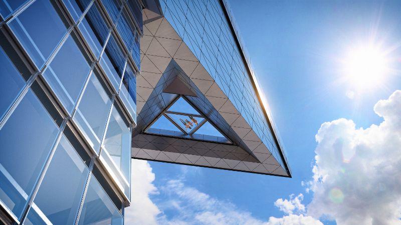 Edge Glass Floor from below