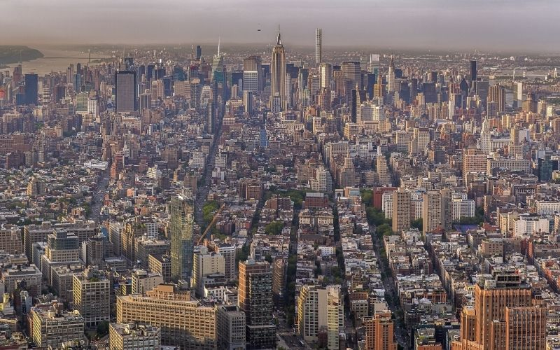 View from the One World Observatory