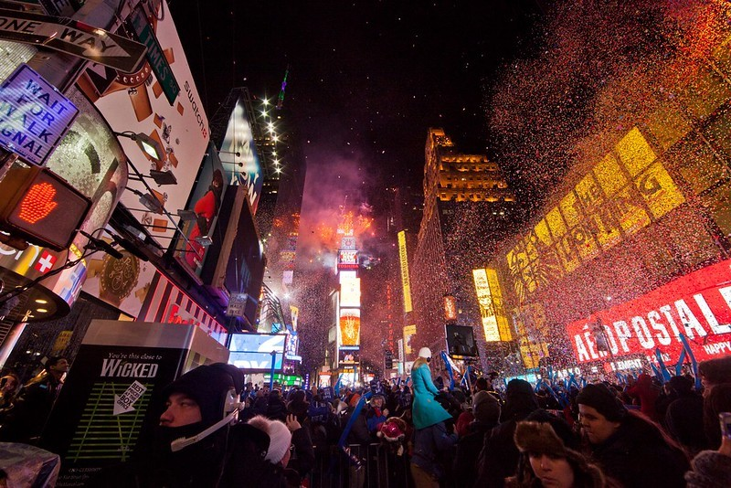 New Years Eve Times Sqaure