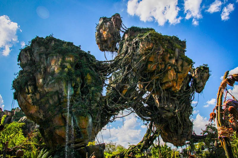 Floating Mountains Pandora Animal Kingdom