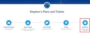 FastPass Booking