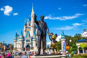 Magic Kingdom Walt and Mickey