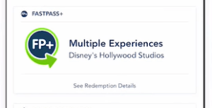 Multi-Experience FastPass+
