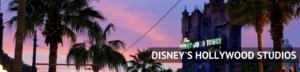 Disney's Hollywood Studios Header