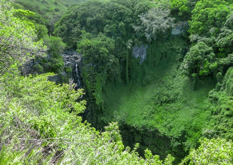 Makahiku Falls Pipiwai