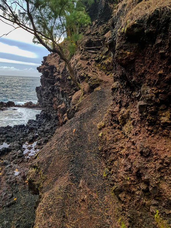 Red Sand Beach Trail