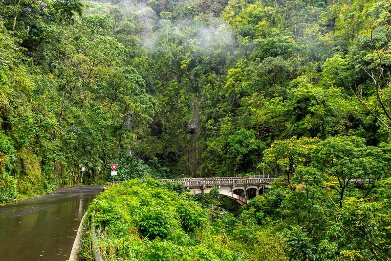 Road to Hana Bridge