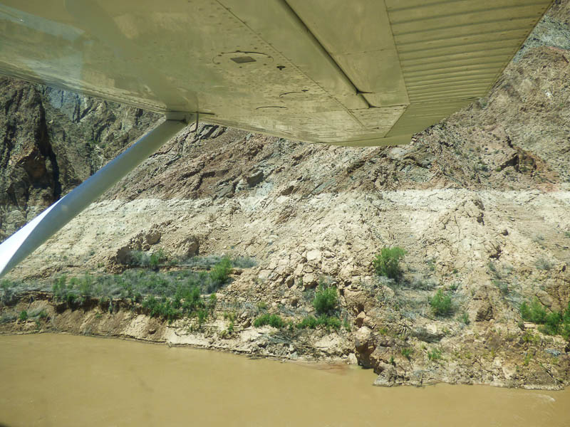Colorado River from 50ft