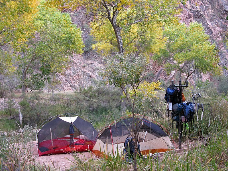 Bright Angel Campground Grand Canyon
