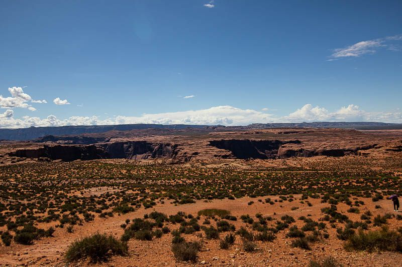 Horseshoe Bend from the trail