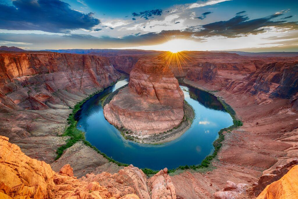 scenic horseshoe bend arizona