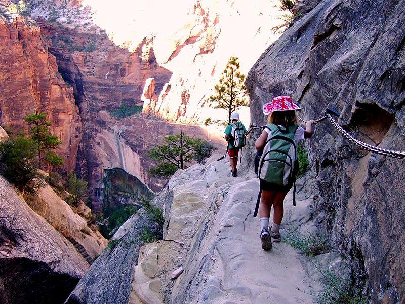 Hidden Canyon trail zion national park