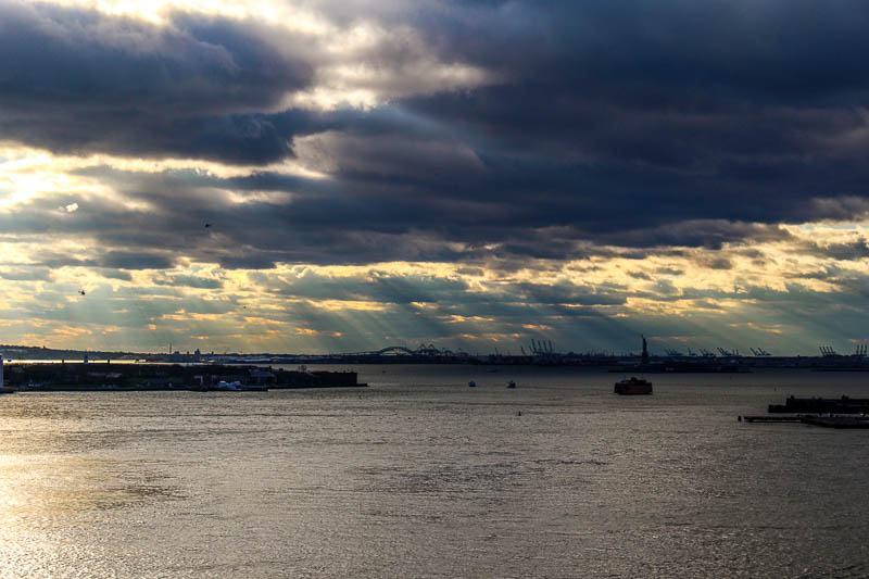 Statue From Brooklyn Bridge
