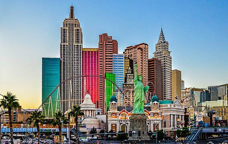 New York New York Roller Coaster