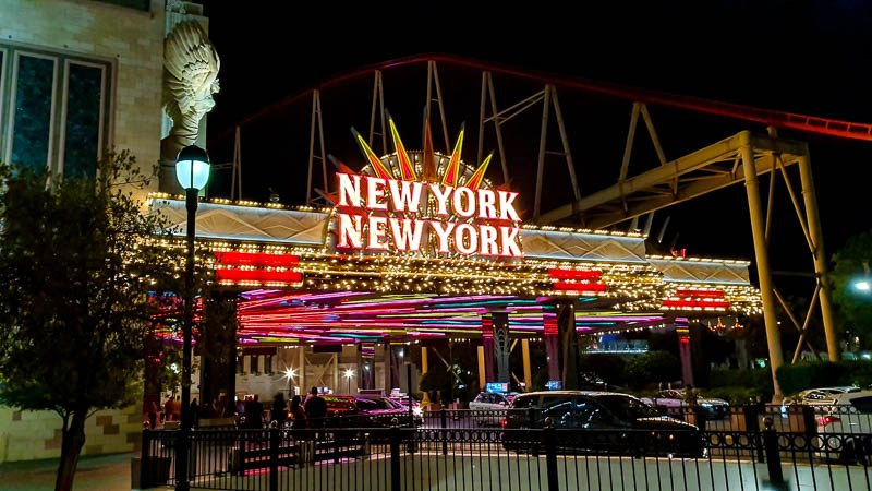 New York New York Roller coaster Review