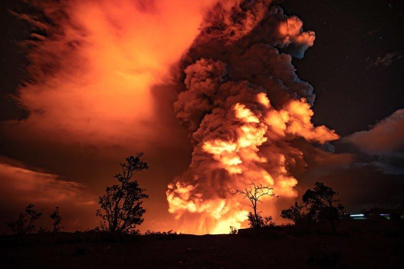 Kilauea eruption 2020 NPS