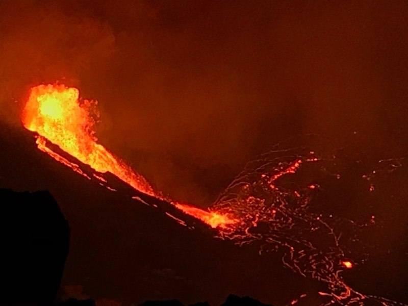 Kilauea Volcano Eruption 2020
