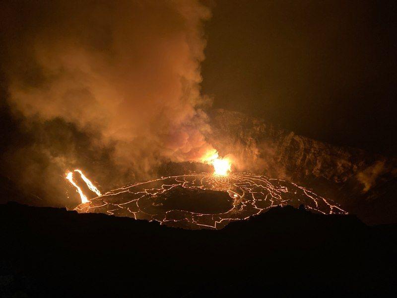 Kilauea eruption 2020 USGS