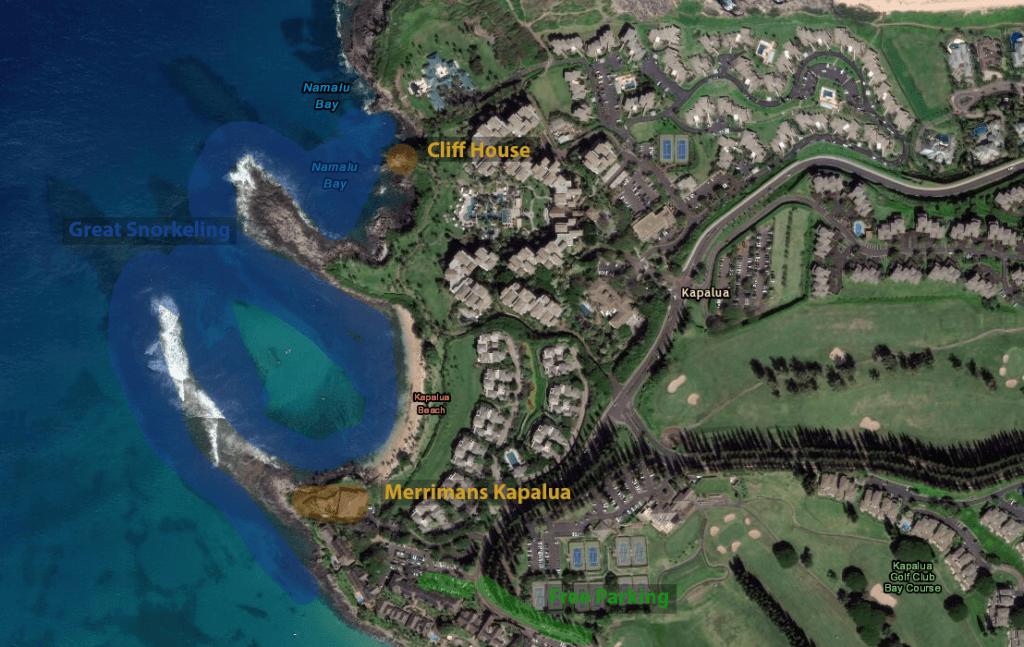 Kapalua Beach Parking