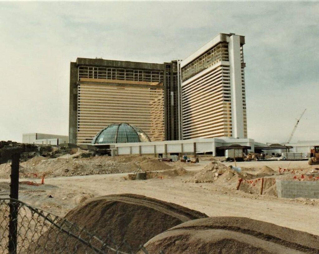 Mirage Las Vegas Construction