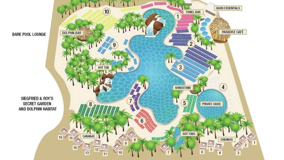 mirage pool map