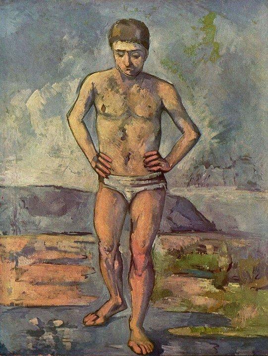 Paul Cézanne The Bather