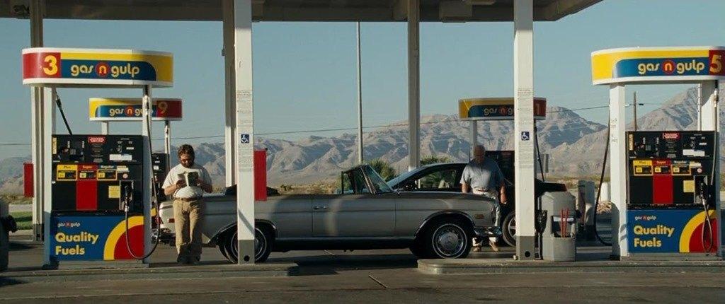 The Hangover gas Station