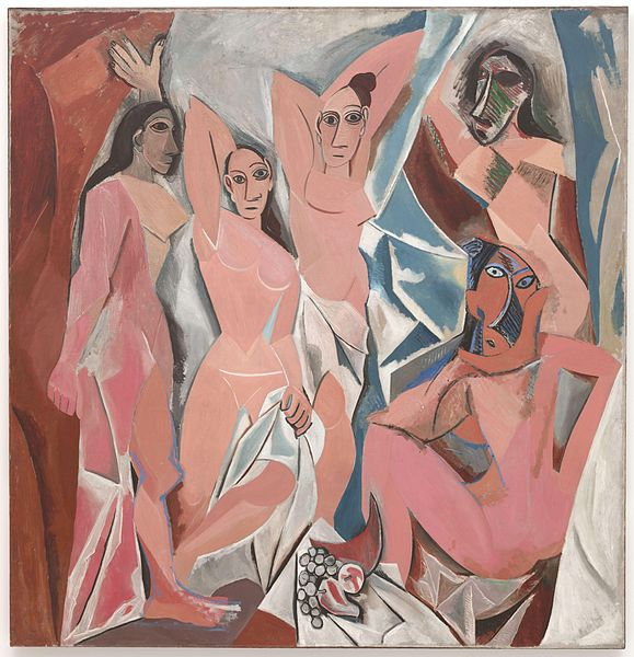 Les Demoiselles d'Avignon picasso