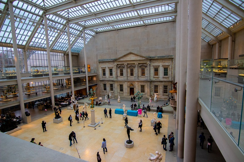 The American Wing at the Met