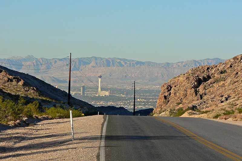 Las Vegas from East Lake Mead Blvd