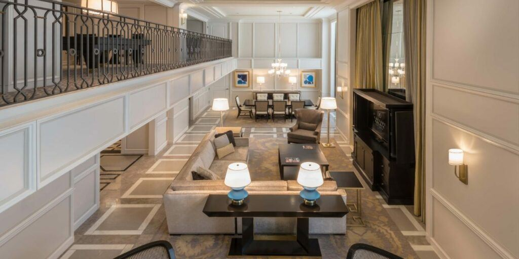 Caesars Palace Julius Duplex Suite
