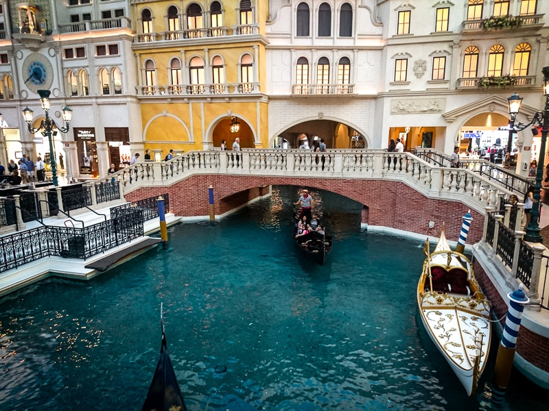 Grand Canal shops Venetian Las Vegas