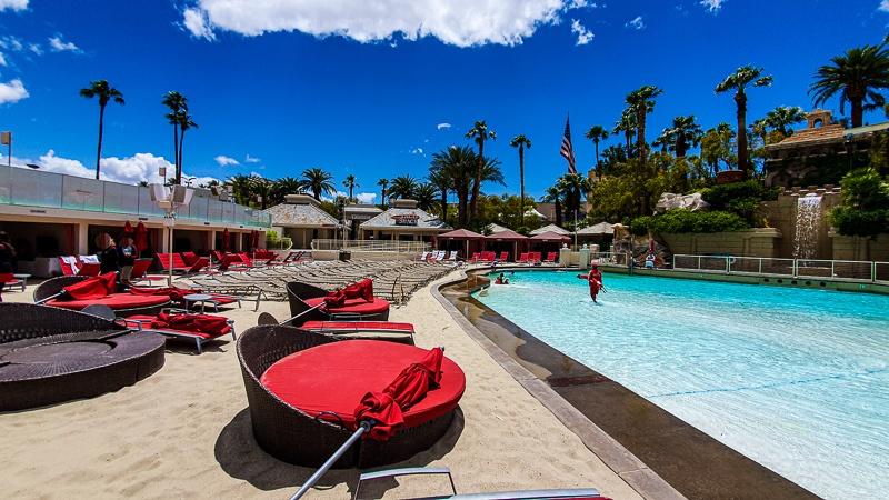 Mandalay Bay Beach Cabanas Las Vegas
