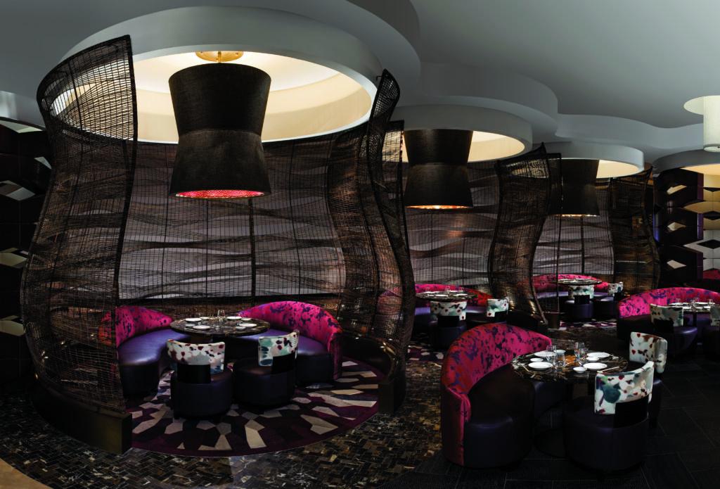 Nobu Restaurant Las Vegas Dining Booths