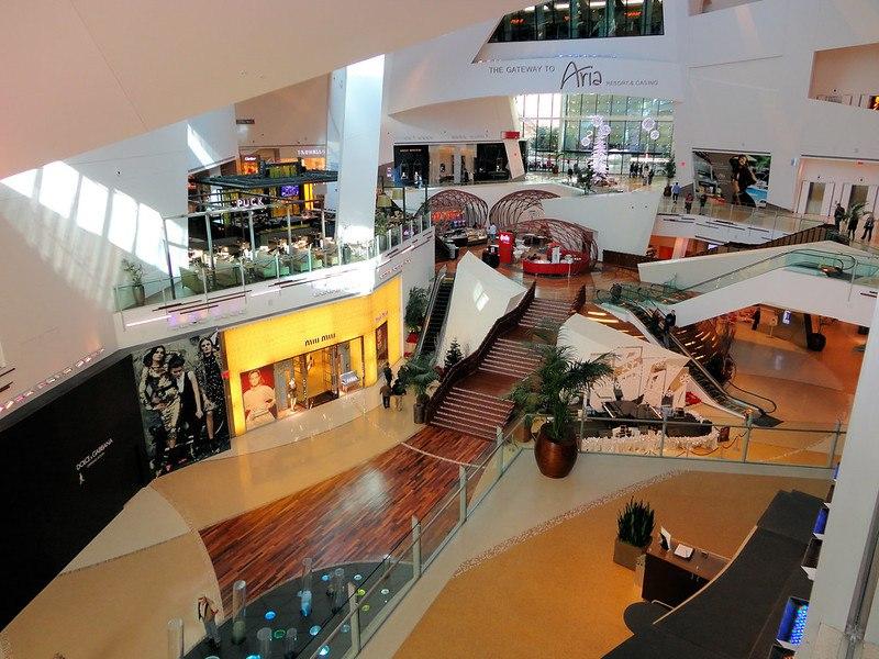 The Shops at Crystals Aria