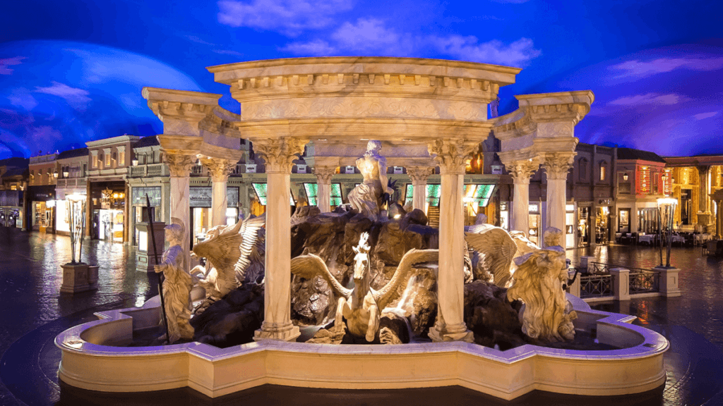 forum shops Caesars palace statue