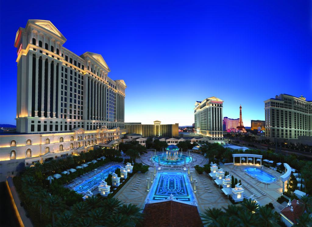 Caesars Palace Pools Review