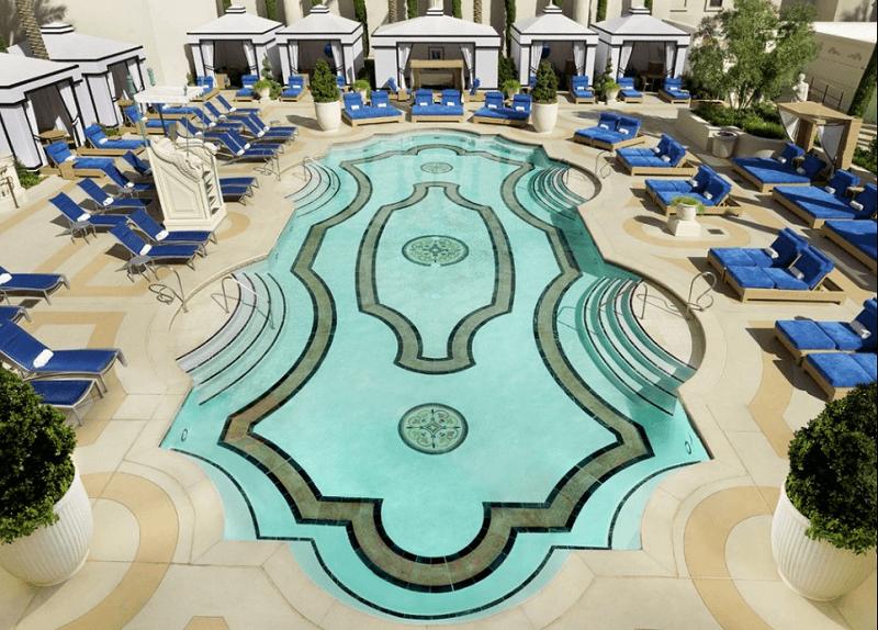 Jupiter Pool Caesars Palace