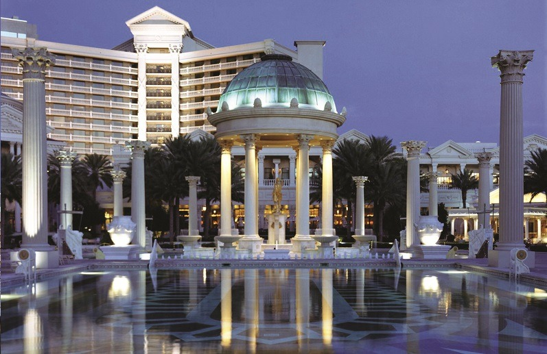 Neptune Pool Caesars Palace
