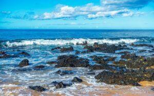 Kamaole III Beach Rocks