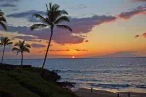 Wailea_Beach_sunset